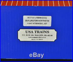 USA Trains R17151 64200 Burlington Northern 5 Unit Intermodal Set