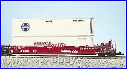 USA Trains R17154 G Scale SP 5-Car Atriculated Intermodal Set (No Containers)