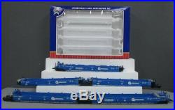 USA Trains R17158 G Scale Conrail Intermodal 5 Unit Articulated Set without Cont