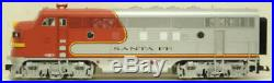 USA Trains R22257 G Santa Fe F3 AB Powered Diesel Locomotive Set EX/Box