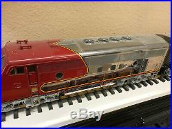USA Trains R22271 All Chrome Santa Fe A-b-b-a Set 1 Of Only 5 Made 17 Years Ago
