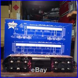 USA Trains R 22253 Atlantic Coast Line F3 A & B Diesel Set G Scale
