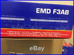 Usa Trains EMD F3AB R22259 Southern 6704 6705 Set Diesel Locomotive G Scale New