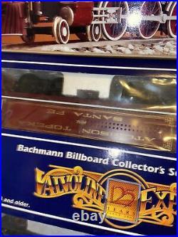 VINTAGE BACHMANN Valvoline 125th Anniversary EXPRESS TRAIN SET USED