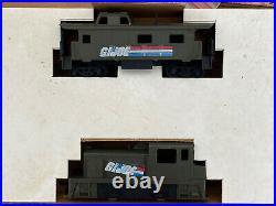 Vintage 1983 Tyco G. I. Joe HO Scale Electric Train & Battle Set Near Complete