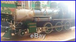 Vintage BACHMANN BIG HAULERS 90102 G GAUGE Locomotive 55 pce Train Set Complete