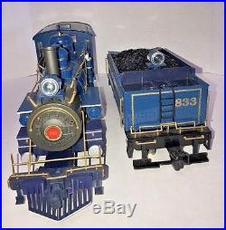 Vintage Bachmann Big Haulers Blue Comet Atlantic City Express G Scale Train Set
