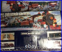 Vintage Bachmann Big Haulers Christmas G Scale Train Set # 90023 Untested