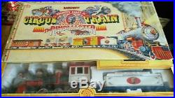 Vintage Bachmann Emmett Kelly Jr Ringmaster Circus G-Scale Train Set