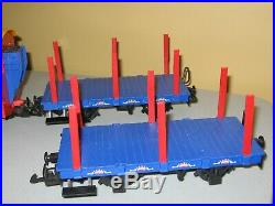 Vintage LGB #92079.1 Circus Train Set with 4 Circus Performers #52410