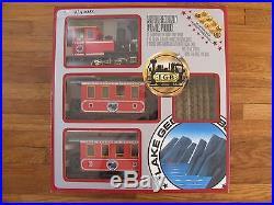 Vintage LGB Lehmann G Scale Lake George & Boulder Passenger Train Set #25301 EX