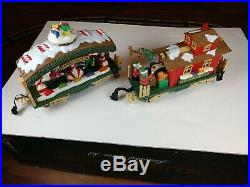 Vintage New Bright The Holiday Express Animated Train Set No. 380, 380-1, 380-4