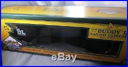 WHOLESALE LOT OF 4 BUDDY L RAILWAY EXPRESS TRAIN SCALE G DIECAST set #d Box Car