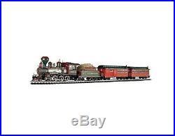 White Christmas Express Ready To Run Electric Train Set Large G Scale Bachmann