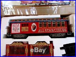 Working Bachmann Ringmaster Emmett Kelly Circus Train Set G Scale Radio Control