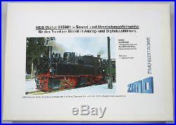 ZIMO SETMALLET Sound-Umrüstset für TRAIN LINE Mallet 99 5901 Spur G Gartenbahn